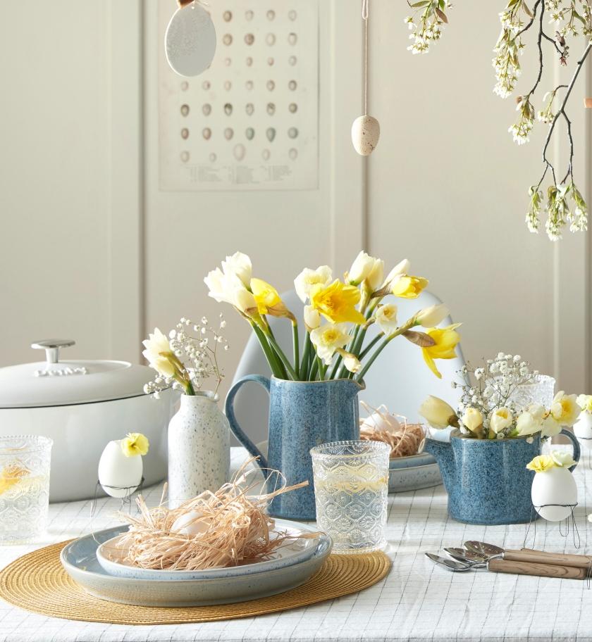 Studio Blue Easter Flowers