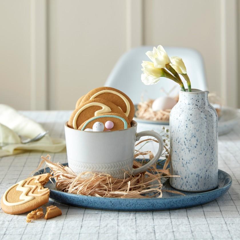 Studio Blue Natural Canvas Easter Mug